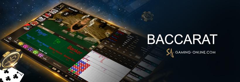 บาคาร่า Baccarat Online บาคาร่าออนไลน์ SA GAMING เว็บเล่น