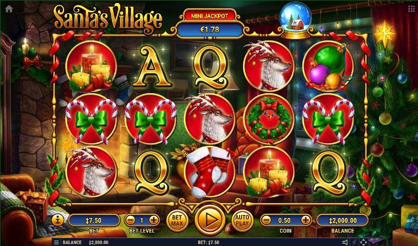 เกมสล็อต Santa's Village