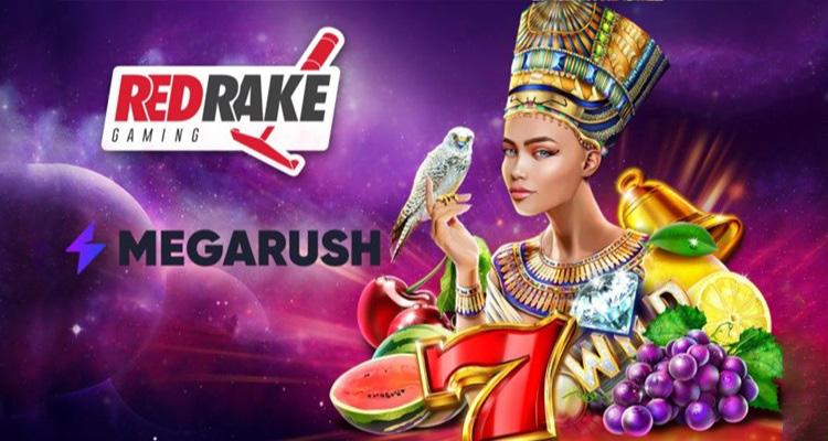MegaRush ปรับปรุงและพัฒนาเกมร่วมกับหุ้นส่วนใหม่ Red Rake Gaming